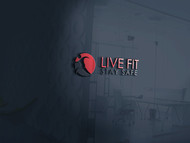 Live Fit Stay Safe Logo - Entry #194