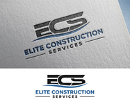 Elite Construction Services or ECS Logo - Entry #353