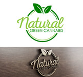 Natural Green Cannabis Logo - Entry #80