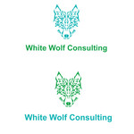 White Wolf Consulting (optional LLC) Logo - Entry #379