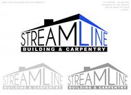 STREAMLINE building & carpentry Logo - Entry #107