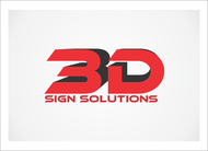 3D Sign Solutions Logo - Entry #66