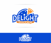 DELIGHT Pizza & Wings  Logo - Entry #61