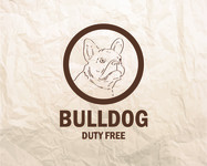 Bulldog Duty Free Logo - Entry #66