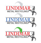 Lindimar Metal Recycling Logo - Entry #353