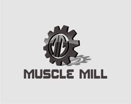 Muscle MIll Logo - Entry #13