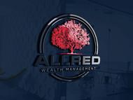 ALLRED WEALTH MANAGEMENT Logo - Entry #743