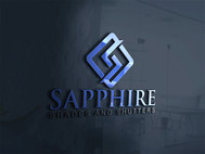 Sapphire Shades and Shutters Logo - Entry #155