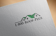 1-800-Roof-Plus Logo - Entry #92