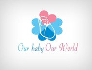 Logo for our Baby product store - Our Baby Our World - Entry #59