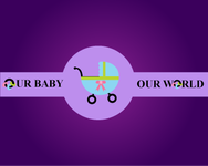 Logo for our Baby product store - Our Baby Our World - Entry #18