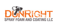 Dun Right Spray Foam and Coating LLC Logo - Entry #65