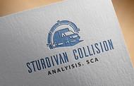 Sturdivan Collision Analyisis.  SCA Logo - Entry #164