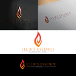 ellie's essence candle co. Logo - Entry #116