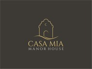 Casa Mia Manor House Logo - Entry #13