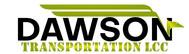 Dawson Transportation LLC. Logo - Entry #254