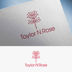 Taylor N Rose Logo - Entry #49