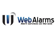 Logo for WebAlarms - Alert services on the web - Entry #163