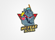 No Fear Scuba Logo - Entry #56