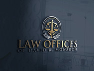 Law Offices of David R. Monarch Logo - Entry #220