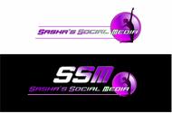 Sasha's Social Media Logo - Entry #62
