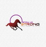 SHOW UP STRONG  Logo - Entry #147