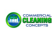 Commercial Cleaning Concepts Logo - Entry #106