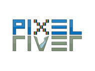 Pixel River Logo - Online Marketing Agency - Entry #74