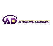Corporate Logo Design 'AD Productions & Management' - Entry #102