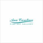 Ana Carolina Fine Art Gallery Logo - Entry #7