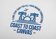 coast to coast canvas Logo - Entry #109