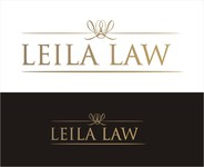 Leila Law Logo - Entry #7