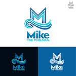 Mike the Poolman  Logo - Entry #90