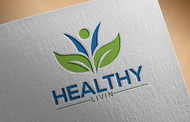 Healthy Livin Logo - Entry #569
