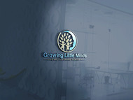Growing Little Minds Early Learning Center or Growing Little Minds Logo - Entry #9