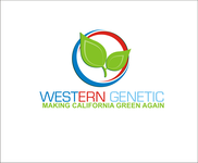 Western Genetics Logo - Entry #48
