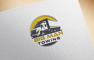 Big Man Towing Logo - Entry #141