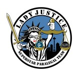 Lady Justice (Roller Derby Style Logo) - Entry #58