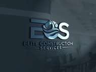 Elite Construction Services or ECS Logo - Entry #233