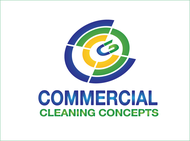 Commercial Cleaning Concepts Logo - Entry #26