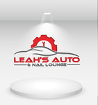 Leah's auto & nail lounge Logo - Entry #180