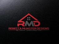 Rebecca Munster Designs (RMD) Logo - Entry #133