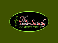 The Semi-Saintly Comedy Tour Logo - Entry #47