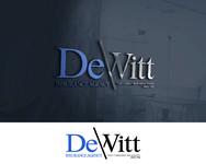 """""""DeWitt Insurance Agency"""" or just """"DeWitt"""" Logo - Entry #219"""