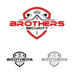 Brothers Security Logo - Entry #181