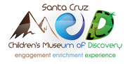 santa cruz children's museum of discovery  MOD Logo - Entry #7