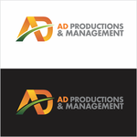 Corporate Logo Design 'AD Productions & Management' - Entry #88
