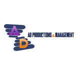 Corporate Logo Design 'AD Productions & Management' - Entry #107