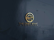 The Debt What If Calculator Logo - Entry #97