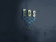 Elite Construction Services or ECS Logo - Entry #207